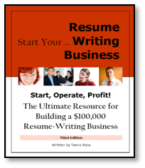BeAResumeWriter.com Resources for Resume Writers